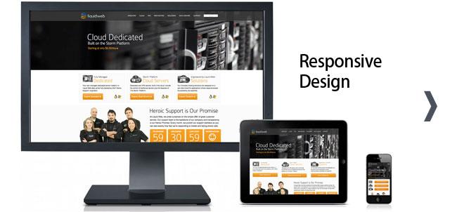 Responsive site design