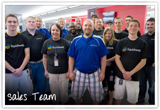Liquid Web Sales Team